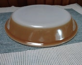 Fire King Pie Dish luster ware