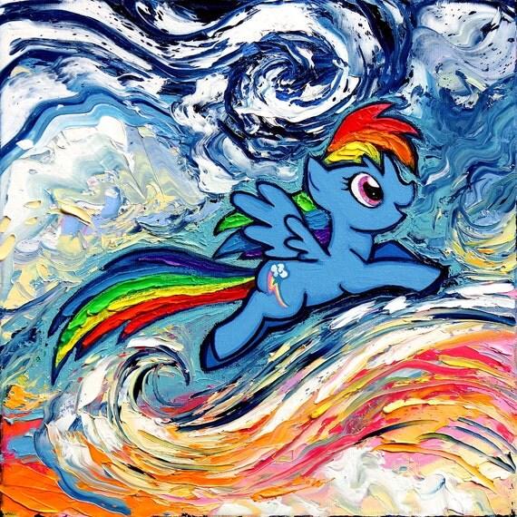 Znalezione obrazy dla zapytania rainbow van gogh