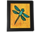 Dragonfly Art - Insect Wa...
