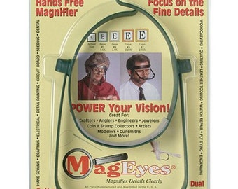 Quiltsy Destash Party - New MagEyes Hands Free Magnifier