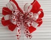 Valentine February Designer Bow