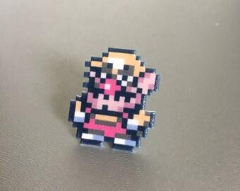 Wario - Wario's Woods / Super Mario pin