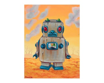 Rusty Robot -  limited edition reproduction by Mr. Hooper