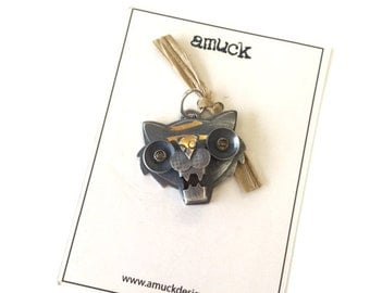 "CS17 - ""ROAR"" Charm by amuckdesign"