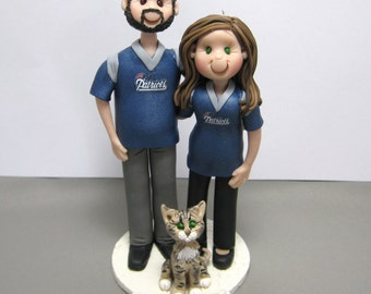 DEPOSIT for a custom Family or Couple Christmas Ornament