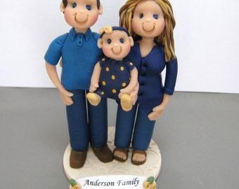 DEPOSIT for Custom made Polymer Clay Adoption Cake Topper