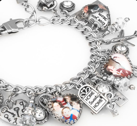 family jewelry keepsake family photo bracelet