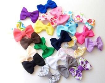 "Baby Snap Hair Clip. Newborn Hair Clip. Handmade 2"" Bow. Girl Hair Clip. Itty Bitty Baby Bow Clip. Girl Bow. Newborn Bow. Baby Shower Gift"