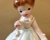 Porcelain wedding bell figurine by Josef Originals