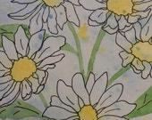 Daisies-Original Pen and Ink Watercolor Painting