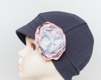 Children cotton hat, Children hat, Chemo Hat, Kids Cancer hat, Women hat, Summer Hat , Hat for kids with Hair Loss, Kids Sun Hat, Beanie