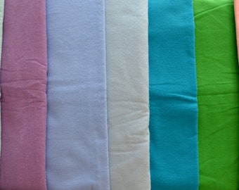 The Perfect Toddler Pillow ... FLANNEL yellow, pink, blues, purple, white, greens, gray ... YOU PICK ... Original Design