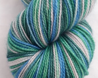 Vellamo on Desmos sock - Hand dyed sock yarn