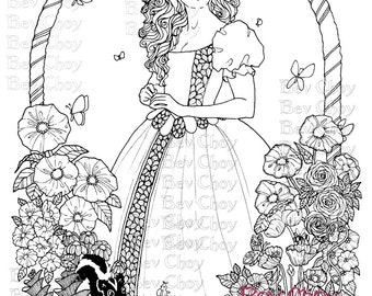 Adult Coloring Page - Daydream