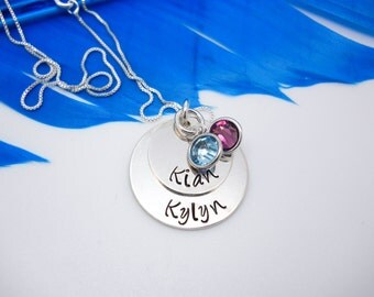 mom necklace with kids names, personalized mother's necklace, personalized necklace, family necklace, Mothers Day gift for mom