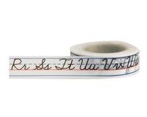 Penmanship Book Washi Tape • Little B Decorative Paper Tape (100352)