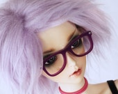 SD wig / fake fur wig in Lilac Ready to ship MonstroDesigns 8-9 MDsw3532