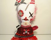 Handmade Art Doll ( Monster Katinka)