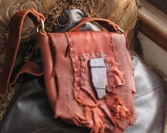 hard candy - handmade moose hide handbag