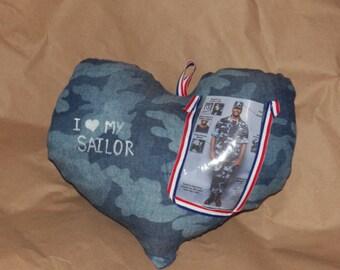 Love My Sailor Pillow