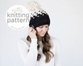 Pattern / Ozetta Knitting Pattern Ombré Fair Isle Knit Hat Pattern Instant Download For The Minturn Hat