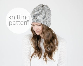 Pattern / Ozetta Simple Knit Hat Pattern Instant Download For The Northwood Hat
