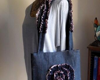 Shoulder Bag...Modern Fun Design Purse..Frills and Thrills  ...Purse...Original Design...