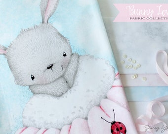 Bunny Love Fabric by the yard