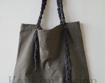 Military twill tote / shoulder bag - KB021