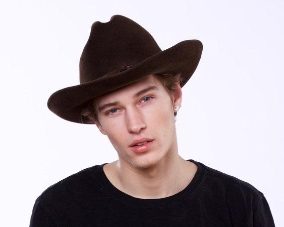 Men's Cowboy Hat Western Hat Rancher's Hat Spring Accessory Felt Cowboy Urban Cowboy Hat Stetson Indiana Jones Hat Women's Cowboy Rodeo Hat