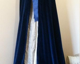 Velvet Hooded Cloak, Wedding Cloak, Winter Wedding, Medieval Wedding, Medieval Costume, Velvet cloak, Fantasy Wedding