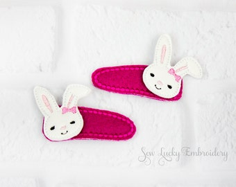 Floppy Eared Bunny Clippy Set