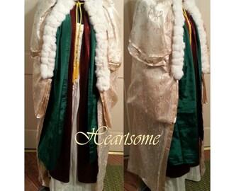 Magi wise men nativity Renaissance king Robe Mardi Gras wizard Biblical costume Christmas