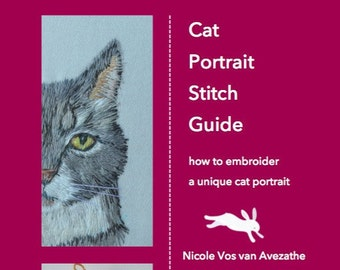 Cat Portrait Stitch Guide PDF