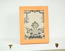 5x7 Reclaimed Frame (Clementine) Reclaimed, salvaged, recycled, upcycled, antique, rustic, shabbychic, midcentury, custom