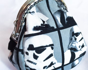 Star Wars Storm Troopers Metal Frame Coin Purse Custom