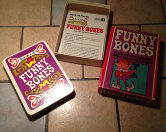 1968 Funny Bones Card Game by Parker Brothers