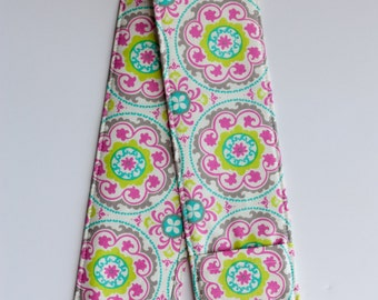 DSLR Camera Strap Cover with lens cap pocket and padding included - Beauty Blooms