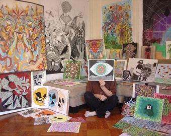 Fine Art Commission -  have Michael create an original hyper-psych masterpiece for you