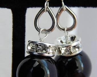 TUXEDO earrings