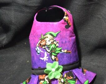 Zelda Dog Dress Small