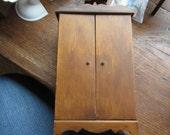 Dollhouse Decor. Vt. Miniature Mahogany Dollhouse Armoire Wardrobe. #58