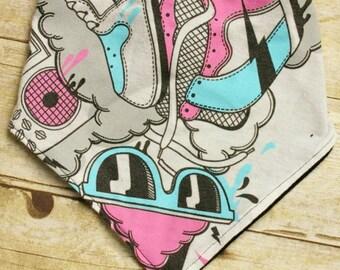 Pop Art Handkerbib