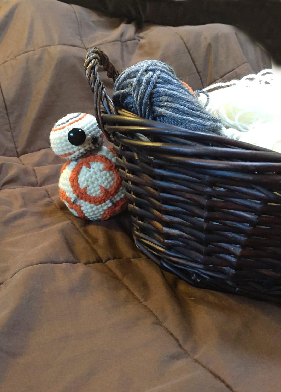 Free Star Wars Bb 8 Crochet Pattern : BB8 Star Wars Inspired Droid Crochet Pattern PDF