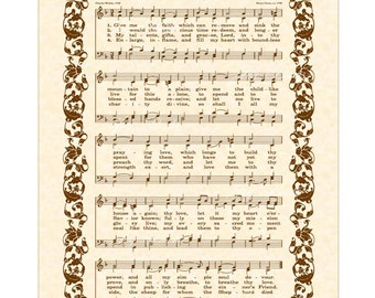 Sheet music to mansion over the hilltop