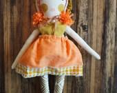 Dainty Cheeks spirit animal Heirloom Doll- Lighthearted Lion