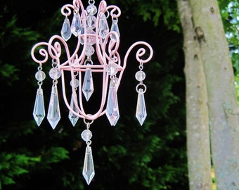 Pink Pixie Car Chandelier MADE TO ORDER