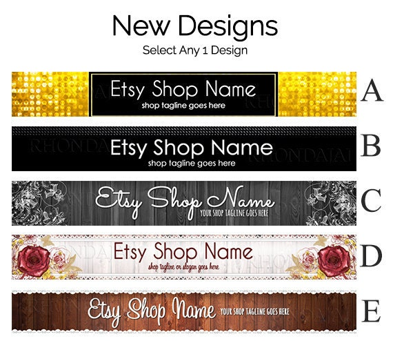 items similar to sale 30 off etsy banners etsy shop banners etsy store graphics new etsy. Black Bedroom Furniture Sets. Home Design Ideas