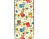 Magnetic Needle Case Needle Slider Case Cute Cats with Fishbones