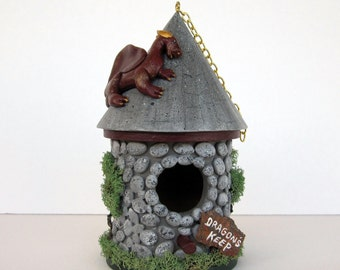Dragon's Keep Mini Birdhouse